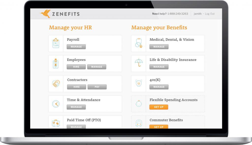 Zenefits บริการด้าน HR ในรูปแบบ Software-as-a-Service