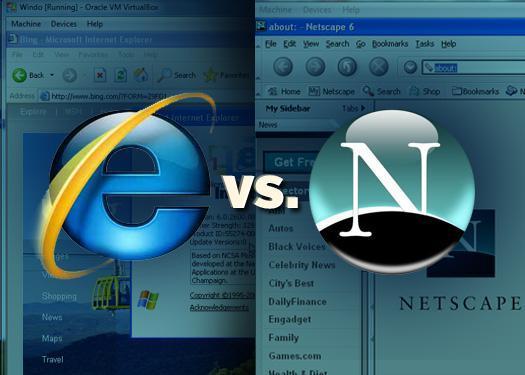 NetScape ที่ถูก Microsoft ปล่อย IE มาตัดราคา จนกลายเป็นอดีต