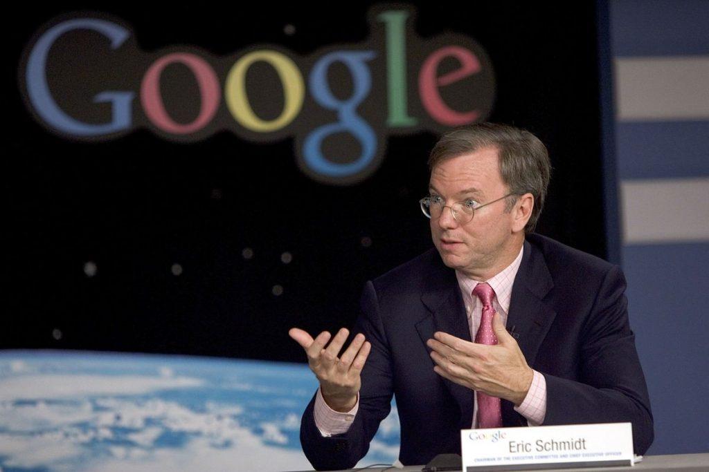 เอริค ชมิดต์ ที่จะมาพา google เติบโตอย่างมั่นคงเพื่อสู่กับ Microsoft