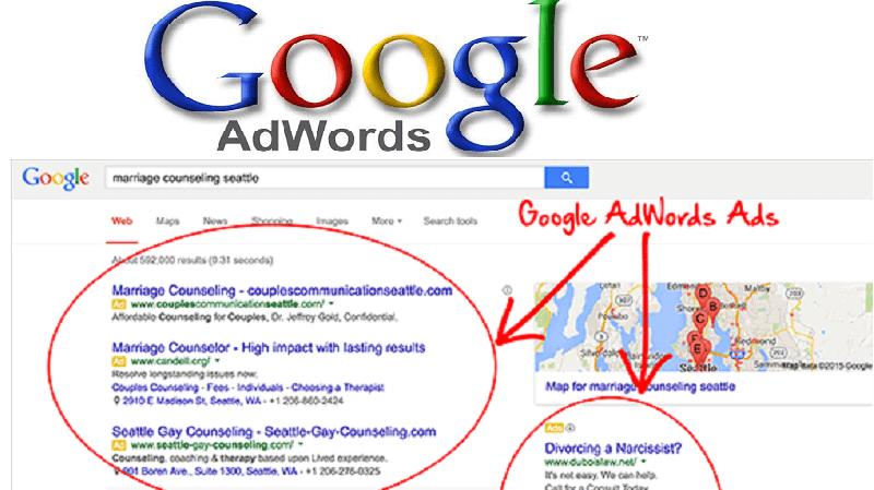 Adwords ของ google ที่คล้ายแบบจำลองของ บิลล์ กรอสส์