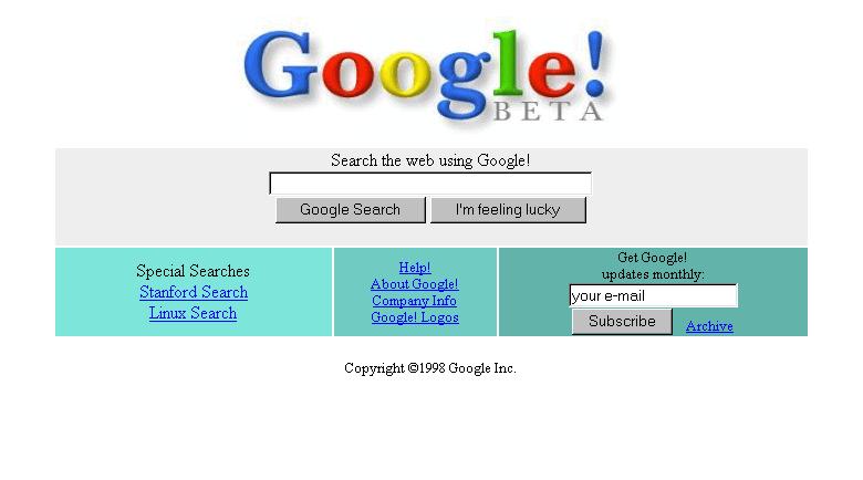 Standford Search และ Linux Search ที่ Google สร้างมาเพื่อลูกค้ากลุ่มแรก
