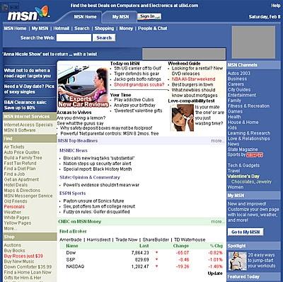 Microsoft โฟกัสใน content online อย่าง MSN มากกว่า