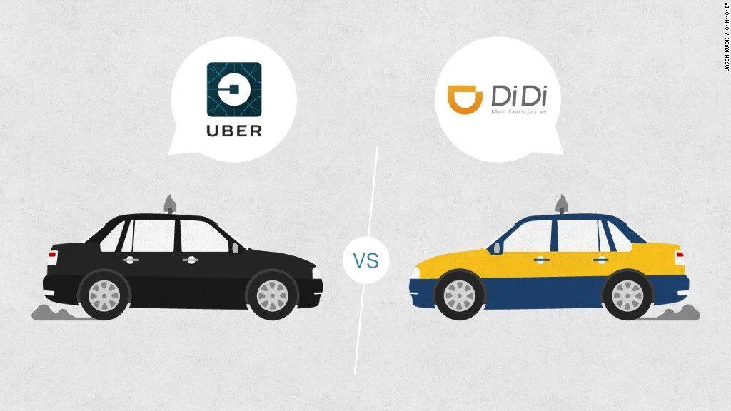 บริการเรียกแท็กซี่ชื่อดังอย่าง Uber และ Didi