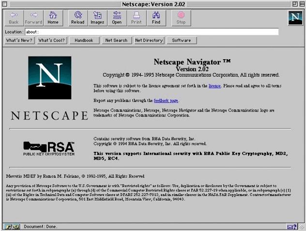 NetScape ทำให้กระแสดอทคอมเฟื่องฟู