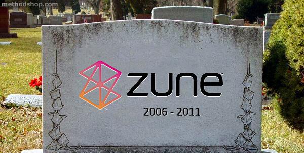 สุดท้าย Zune ก็ต้องปิดฉากลงไปในปี 2011