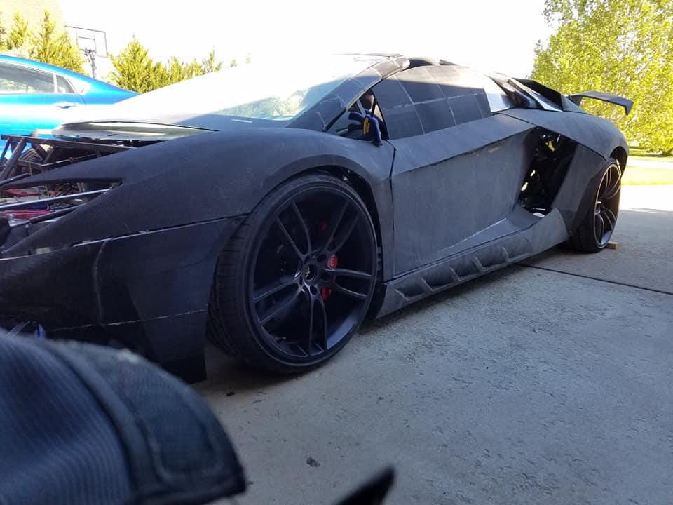 Lamborghini จากเทคโนโลยี 3D Printing