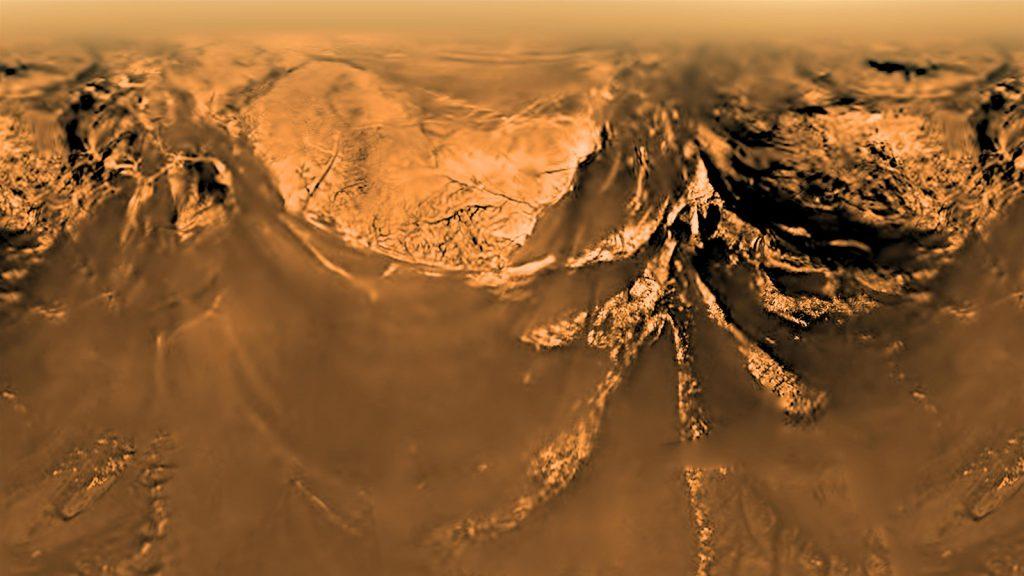 ภาพจากดวงจันทร์ ไททัน