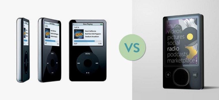 Zune ที่ Microsoft หวังมาล้ม iPod