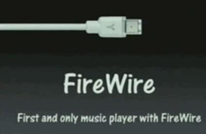 FireWire เทคโนโลยีสำคัญในการสร้างเครื่องเล่น MP3 ของ Apple