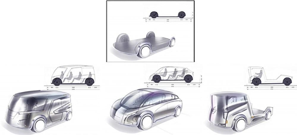 แนวคิดการออกแบบรถยนต์แบบใหม่ฉีกกฏเกณฑ์เดิม ๆ ที่เคยมี