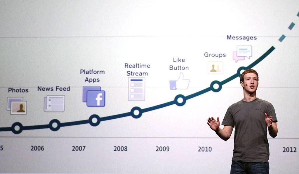 facebook เติบโตอย่างรวดเร็วจน ก้าวขึ้นมาต่อกรกับ google