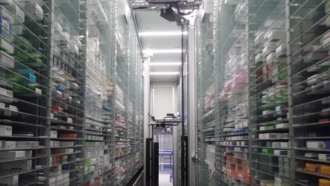 หุ่นยนต์อัตโนมัติของ Pharmacy2U