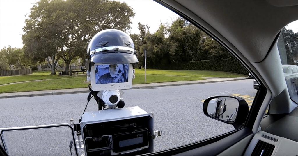 หุ่นยนต์ที่มาช่วยเหลืองานของตำรวจได้