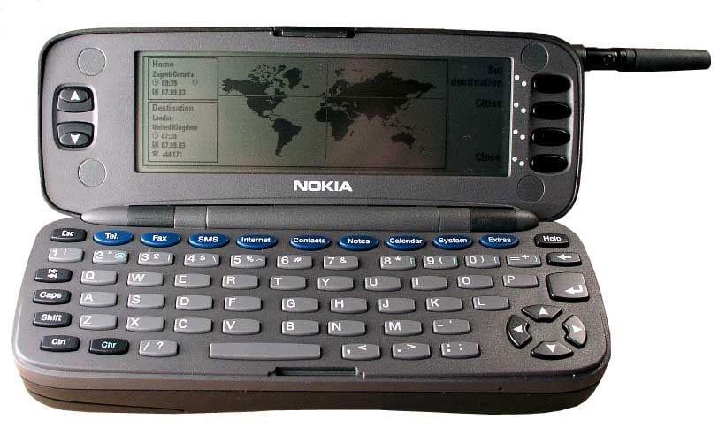 Nokia Communicator กับการเป็น Smartphone เครื่องแรกของโลก