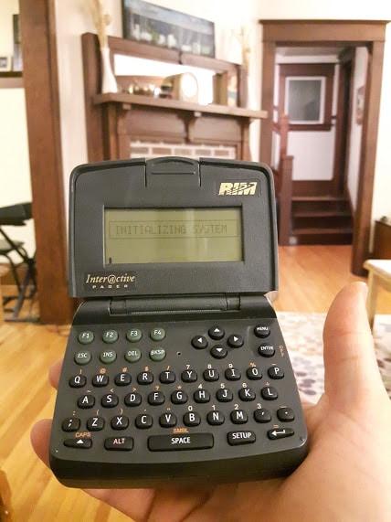 RIM Inter@ctive 900 นวัตกรรมใหม่ที่ได้รับความนิยมอย่างมากในขณะนั้น