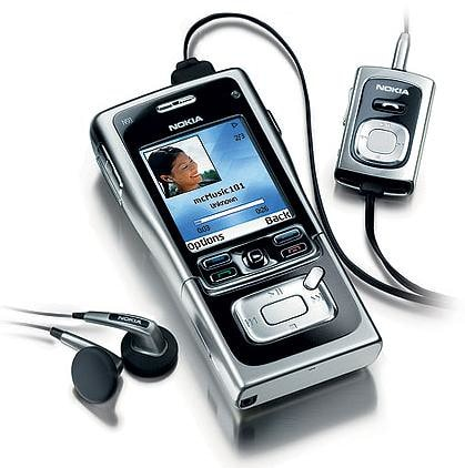 N91 ที่  Nokia หวังมาเจาะตลาดธุรกิจเพลงเหมือนกัน
