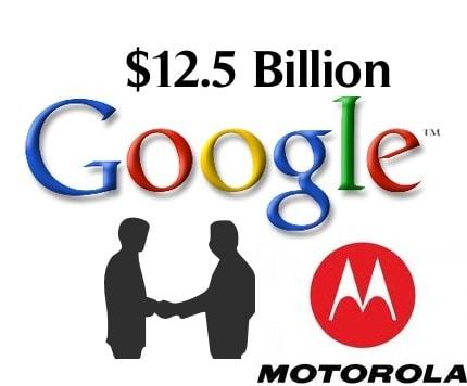 Google ทุ่มเต็มที่ในการซื้อ Motorola เพื่อปกป้อง Android