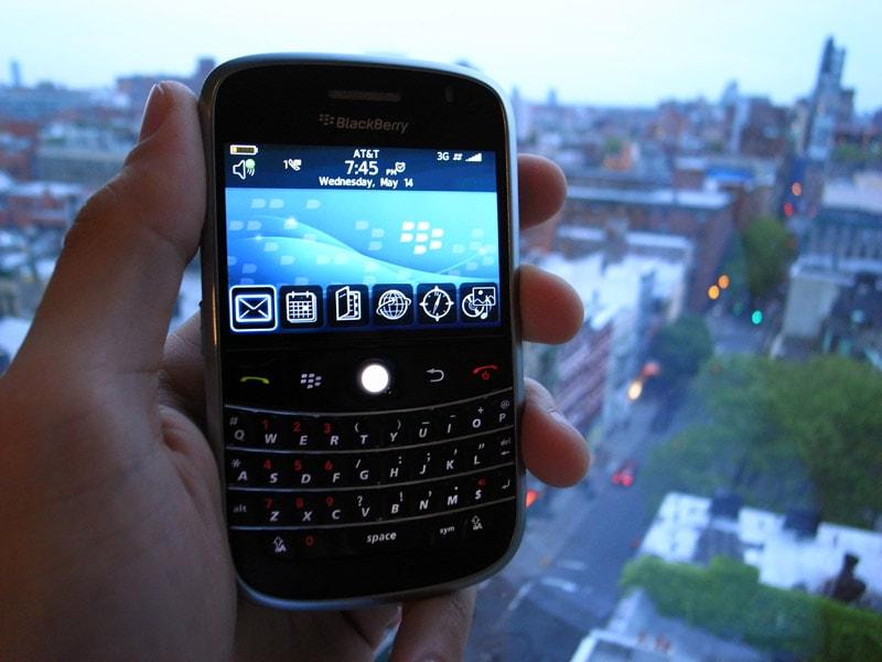 Blackberry ที่เน้นด้านความปลอดภัยของข้อมูล