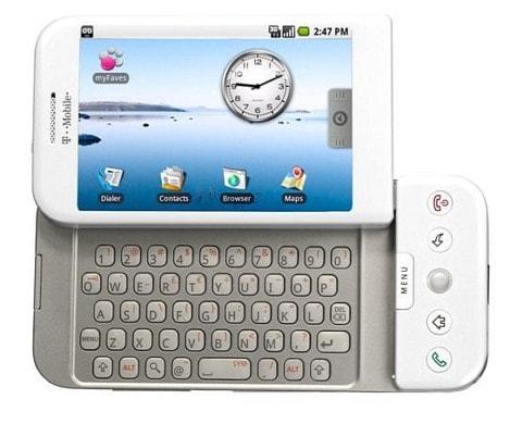 HTC G1 มือถือรุ่นแรกของ Android ที่แทบจะสู้อะไร iPhone ไม่ได้เลย