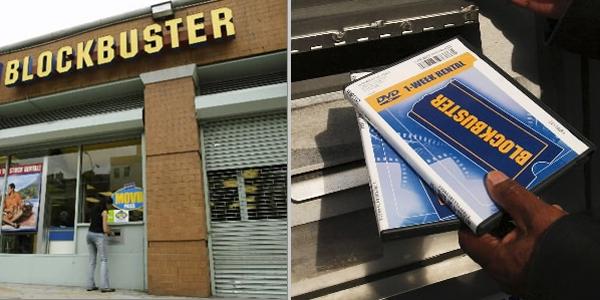 ธุรกิจเช่าวีดีโอ ที่ขยายสาขาไปทั่วอเมริกาของ Blockbuster