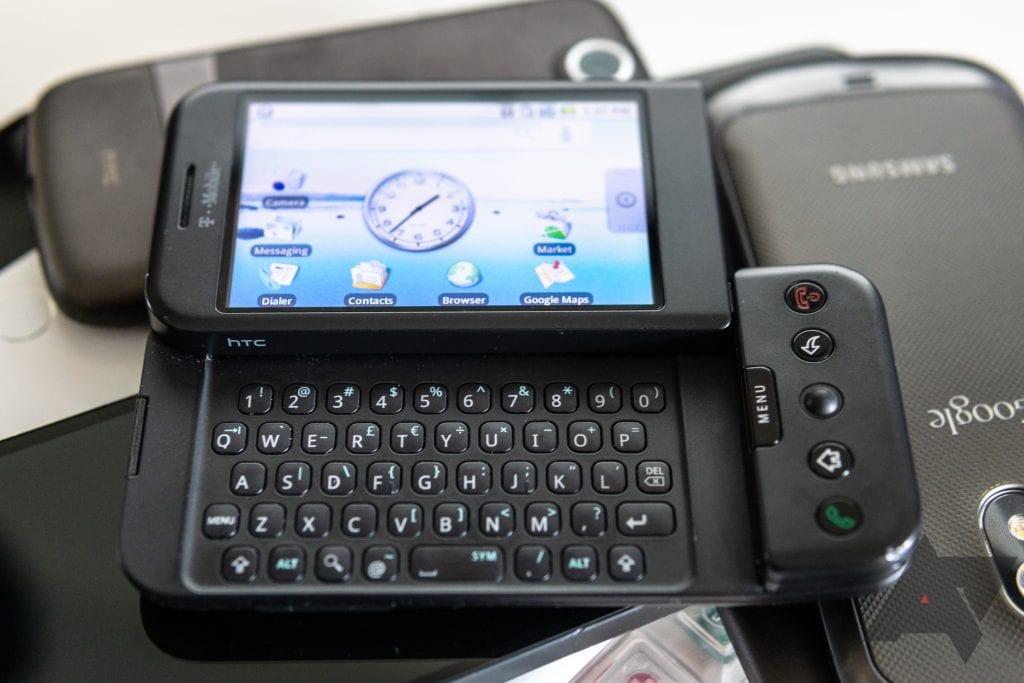 HTC G1 มือถือ Android รุ่นแรกของ Google ที่ดูไม่มีแววว่าจะรุ่ง