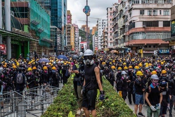 อาวุธใหม่กับเป้าหมายในการสลายการชุมนุมในฮ่องกง