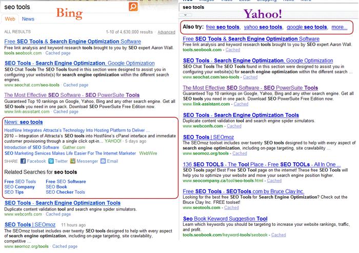 Yahoo ใช้โปรแกรมค้นหาของ Bing จาก Microsoft แต่ดูเหมือนจะสายไปเสียแล้ว