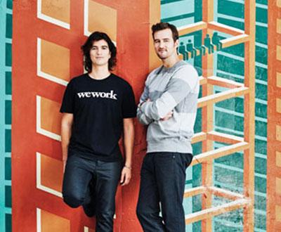 สองคู่หูที่ช่วยกันปลุกปั้นธุรกิจ WeWork