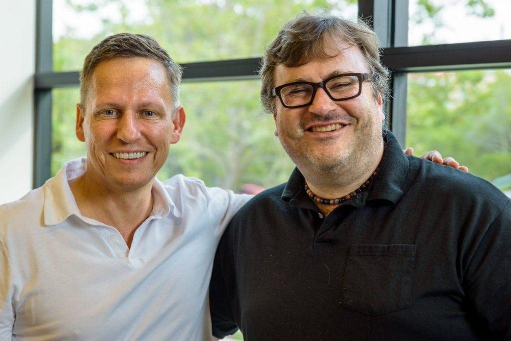 Reid Hoffman เพื่อนสนิทของ Thiel สมัยเรียนสแตนฟอร์ด