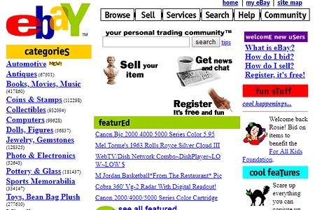 PayPal นำร่องเข้าสู่ชุมชนของ ebay