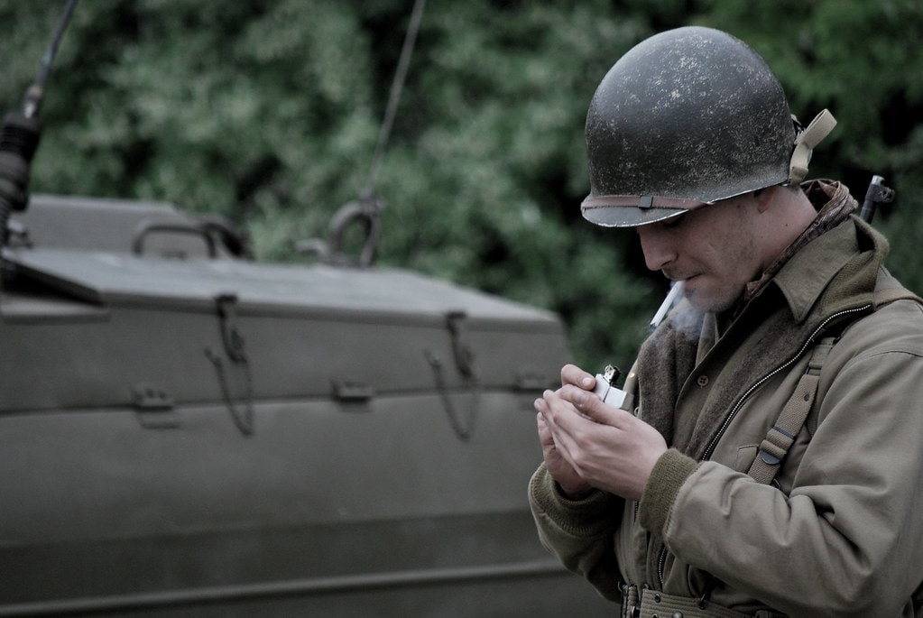 ผลจากสงครามโลกครั้งที่ 2 ทำให้ zippo กลายเป็นแบรนด์ที่รู้จักในระดับโลก