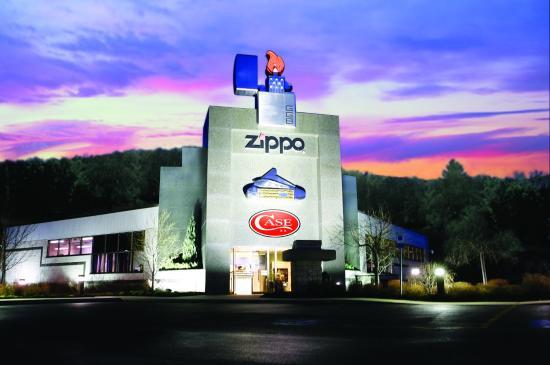 พิพิธภัณฑ์ของ Zippo ที่เมืองแบรดฟอร์ด