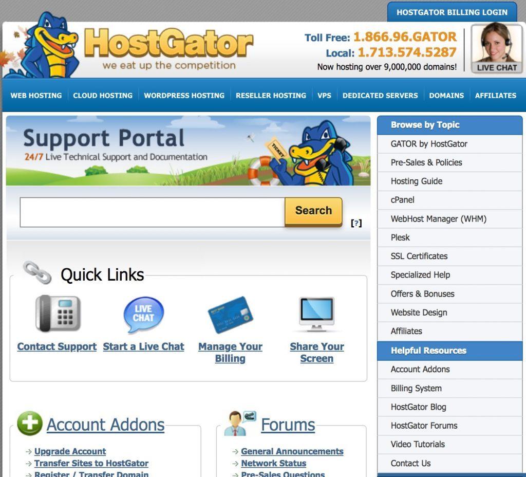 Hostgator ที่เน้นความพึงพอใจของลูกค้าเป็นหลัก