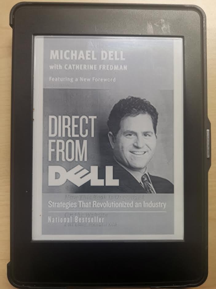หนังสือ Direct From Dell