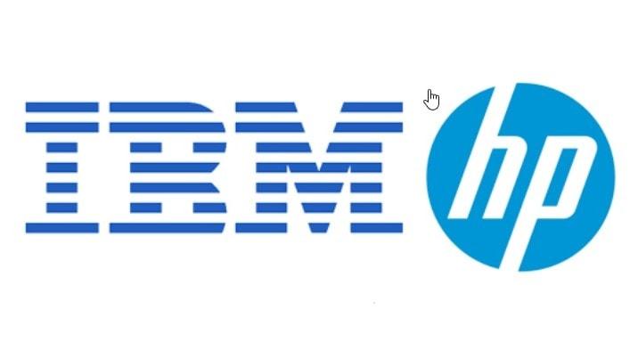 IBM , HP ที่กำลังผูกขาดตลาด Server อยู่ในตอนนั้น