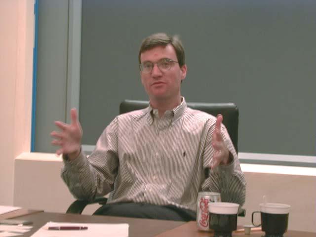 Scott Eckert ผู้มีบทบาทสำคัญในระบบออนไลน์ของ Dell