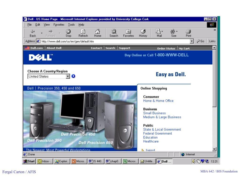 Direct From Dell ที่เน้นขายตรงให้กับลูกค้า