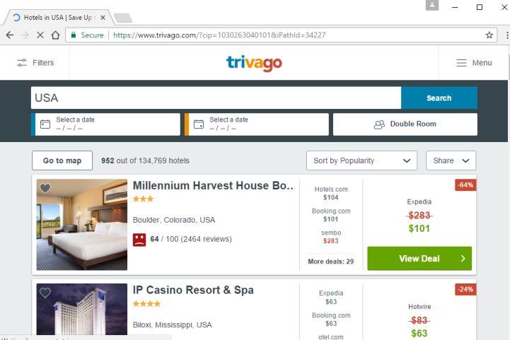 เว๊บไซต์การเปรียบเทียบราคาโรงแรมแห่งแรก ๆ ในเยอรมัน