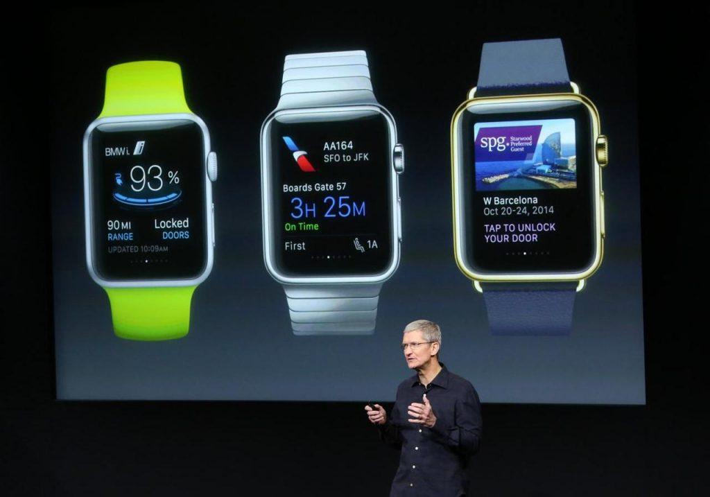 Apple Watch ผลิตภัณฑ์แรกที่สร้างสรรค์จากมันสมองของ Cook