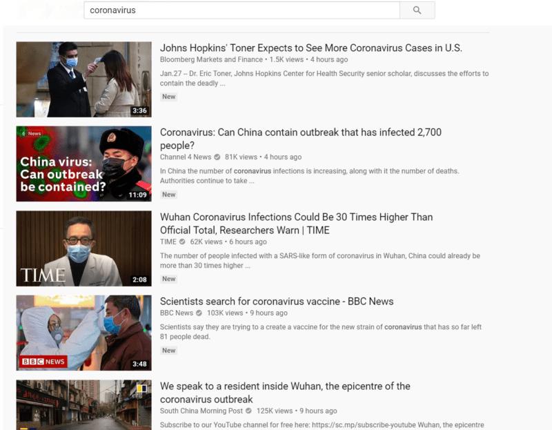 Youtube มีการปรับอัลกอริทึมเพื่อป้องกันข่าวปลอม