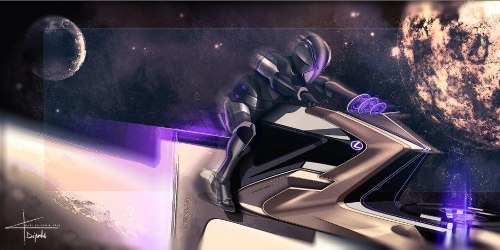 Concept art: Karl Dujardin/Lexus