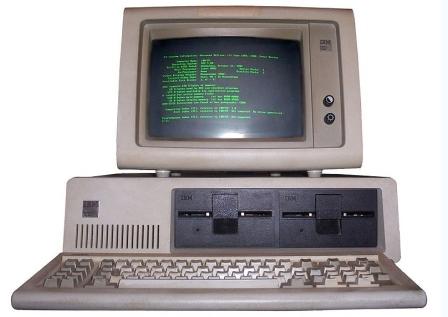 IBM PC ที่เป็นเจ้าตลาดและทันสมัยมากในยุคนั้น