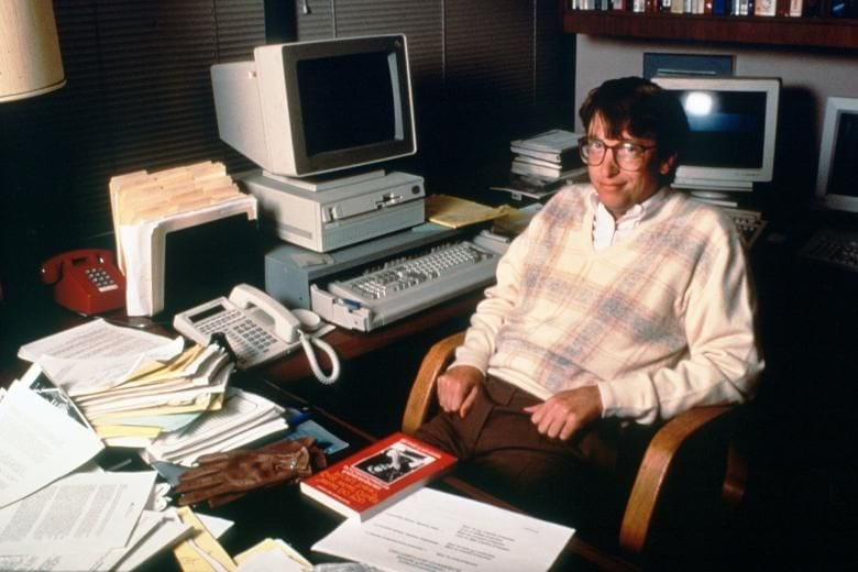 Bill Gates ที่ยังมองไม่เห็นถึงพลังของ internet ในขณะนั้น