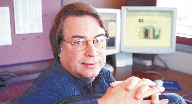Larry Smarr ผู้บริหารของศูนย์ NCSA