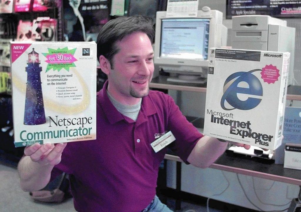 Microsoft ปล่อย Internet Exproler มากับ Windows แบบฟรี ๆ