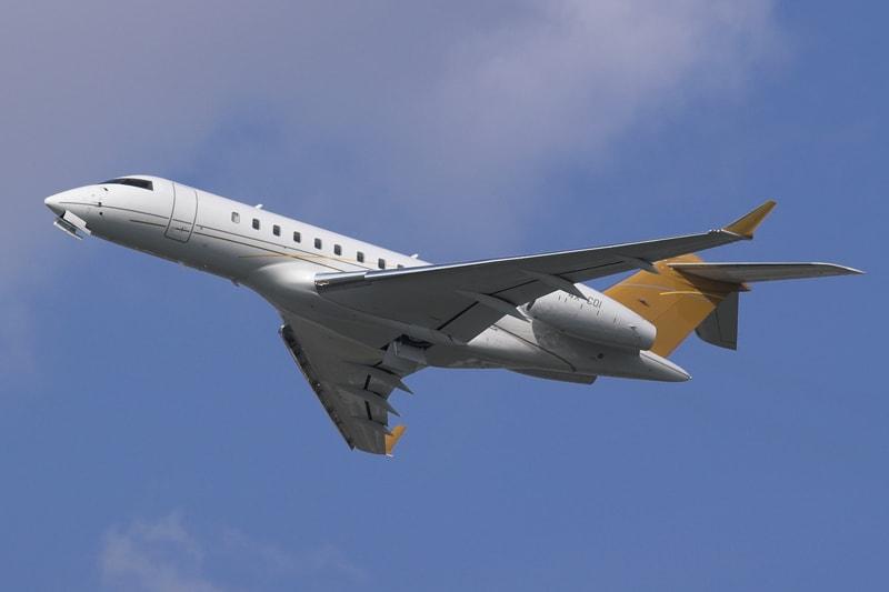 Bombardier Global 5000 เปรียบเหมือนบ้านหลังที่สองของ Low