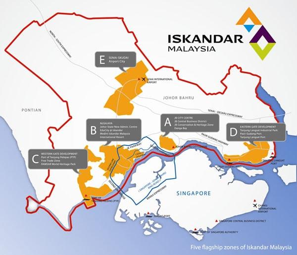 Iskandar โครงการพัฒนาเศรษฐกิจขนาดใหญ่ทางใต้ของมาเลเซีย