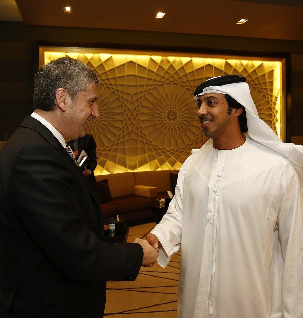 Sheikh Mansour Bin Zayed เศรษฐีอันดับต้น ๆ ของโลกเจ้าของทีม แมน ซิตี้