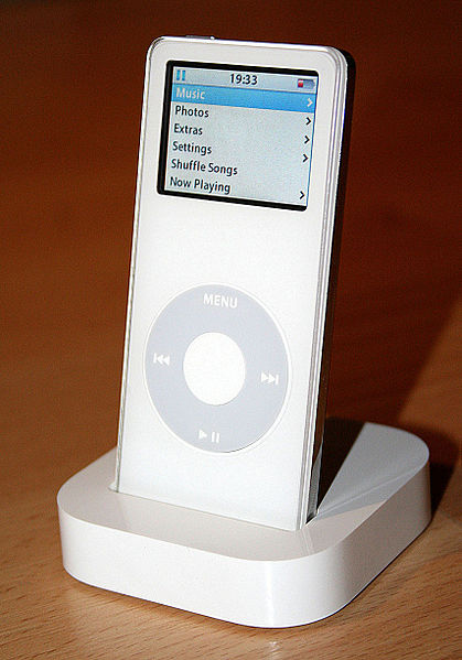 Ipod Nano ที่ต้องเปลี่ยนมาใช้หน่วยความจำแบบ Flash