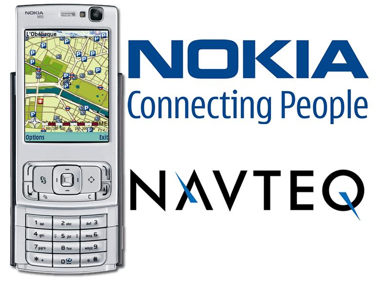 Navteq ที่ Nokia หวังที่จะมาสร้างรายได้กับกับบริษํท